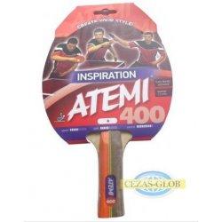 Rakietka do tenisa stołowego Atemi 400 an - rączka anatomiczna