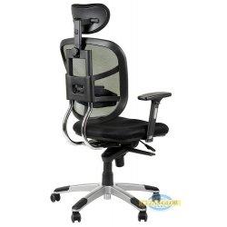 Krzesło obrotowe z wysuwem siedzenia HN-5018 SZARY