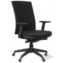 Krzesła obrotowe z wysuwem siedziska KB-8922 B-S CZARNY