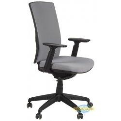 Krzesła obrotowe z wysuwem siedziska KB-8922 B-S SZARY