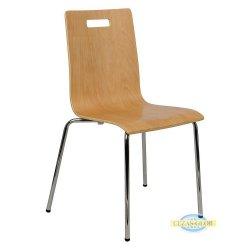 Krzesła stacjonarne sklejkowe  TDC-132/A  buk