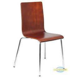 Krzesło stacjonarne sklejkowe TDC-132 C.ORZECH