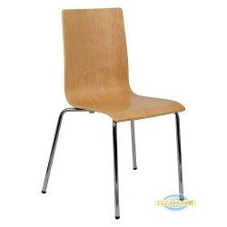 Krzesło stacjonarne sklejkowe TDC-132/B BUK