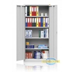 Szafa biurowa czteropółkowa, z drzwiami uchylnymi BU/4.100
