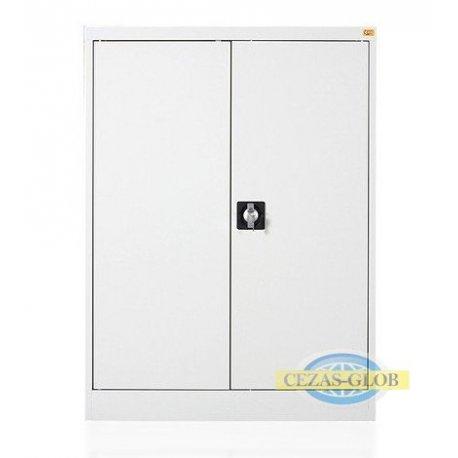 Szafa biurowa dwupółkowa, z drzwiami uchylnymi BU/2.100