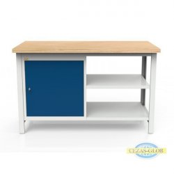 Stół 2-modułowy + szafka WSZ-A +2 półkI W-P1
