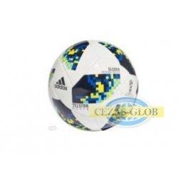 Piłka nożna Adidas Telstar World Cup Ko Glider biała