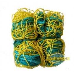 Siatka do piłki ręcznej 3x2 PE 4 mm 3x2x1,5 m  zółto-niebieska