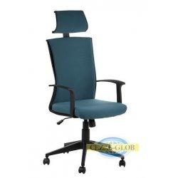 Fotel CLAYTON-BK-56-BK-T