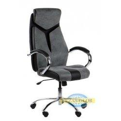 Fotel CLIFTON-BK-A45-PU002-BK-T