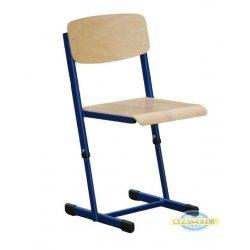 Krzesło szkolne regulowane REKS nr 5-6