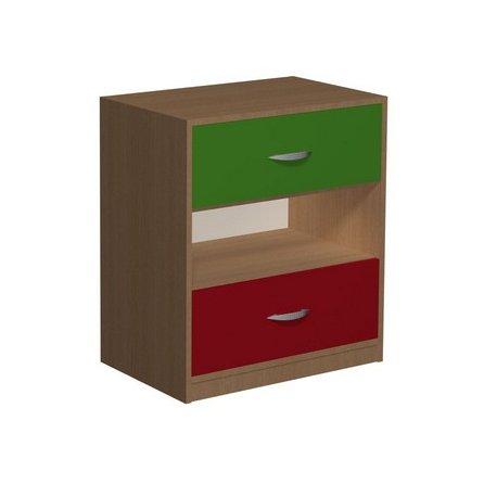 Komoda przedszkolna z szufladami Primo 118