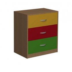 Komoda przedszkolna z szufladami Primo 119