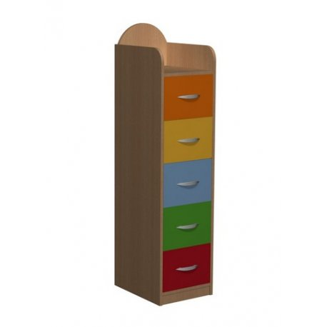 Komoda przedszkolna z szufladami Primo 64