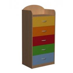 Komoda przedszkolna z szufladami Primo 70