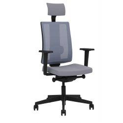 Krzesło NAVIGO MESH HRUA Black