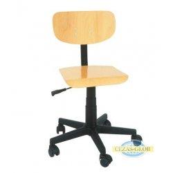 Krzesło szkolne regulowane OK 10 na kółkach
