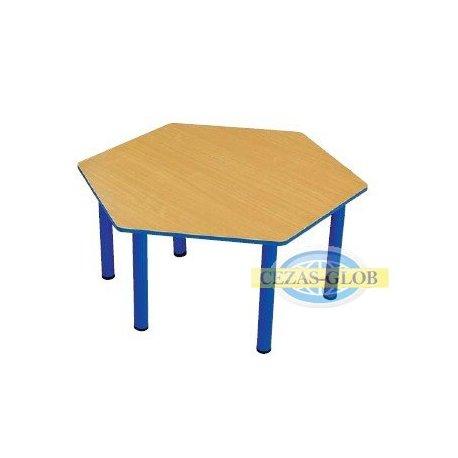 """Stół """"Puchatek"""" z bl. sześciokąt Nr 1-4"""