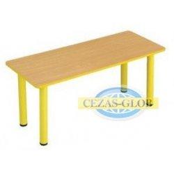 """Stół przedszkolny """"Puchatek"""" z bl. prostokątnym 130x80cm"""