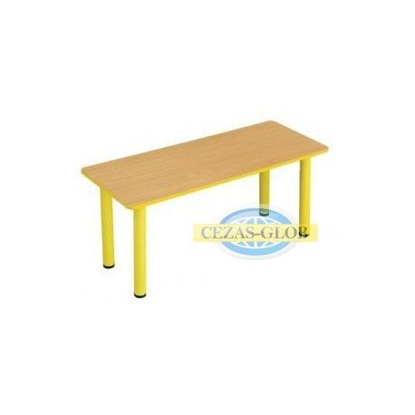 "Stół ""Puchatek"" z bl. prostokąt 130x80cm"