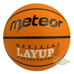 Piłak do koszykówki Meteor Layup 6