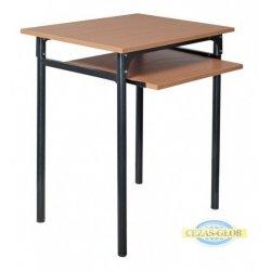 Stół 1-os z wysuwaną półką