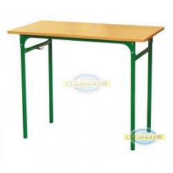 Stół szkolny KUBUŚ 1-os Nr 5,6,7 rura fi 32 mm
