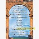 Plansza Dziesięć przykazań Bożych