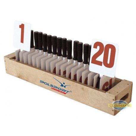 Numerator wymiany zawodnika 20 tab.