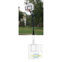 Zestaw do mini koszykówki rekreacyjny na zewnątrz