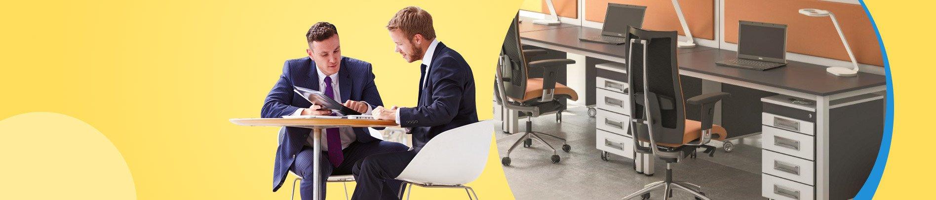 Krzesła i fotele biurowe